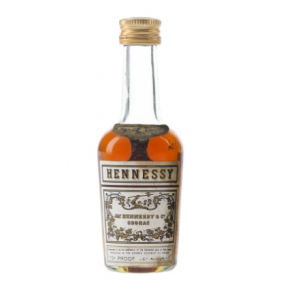 Hennessy Cognac Miniature - 5cl 70 Proof