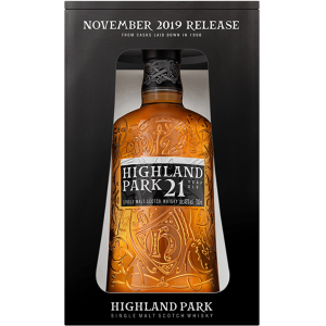 Highland Park 21 Year Old November Release 2019 - 46% 70cl