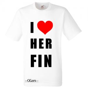 C.Gars Ltd - I Love Herfin T-Shirt