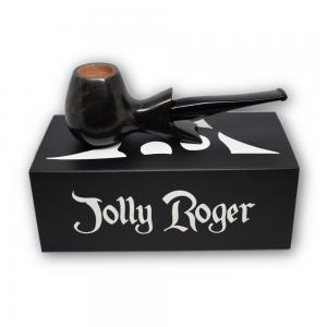 Jolly Roger Clippertor Smooth Straight Grey Pipe