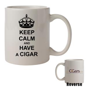 C.Gars Ltd - Keep Calm and Have a Cigar Mug