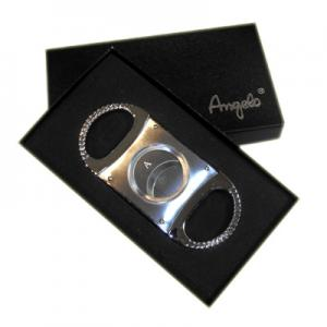 Angelo 66 Ring Gauge Cigar Cutter - Chrome