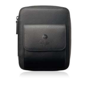 Colibri Explorer Leather Travel Cigar Case - Black