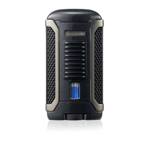 Colibri Apex - Single Jet Flame Lighter - Metallic Black