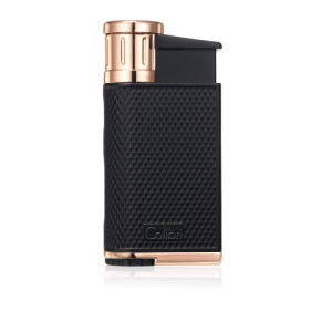 Colibri Evo Single-jet Flame Lighter - Black & Rose