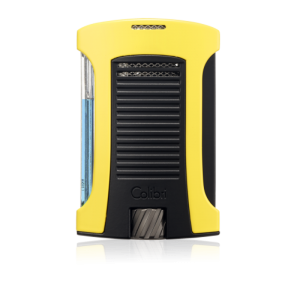 Colibri Daytona Single-jet Flame Lighter - Neon Yellow & Black