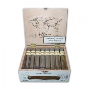 The Traveler London Heathrow Maduro Box Pressed Cigar - Box of 24