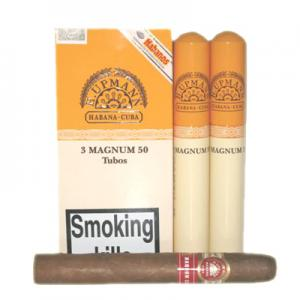 H. Upmann Magnum 50 Tubed Cigar - Pack of 3