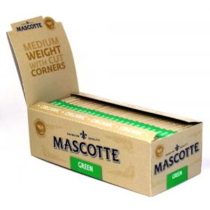 Mascotte Green Organic Rolling Papers 50 packs