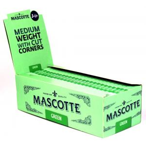 Mascotte Green Rolling Papers 50 packs