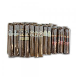 Mid Range Mixed Box Selection Sampler - 25 Cigars