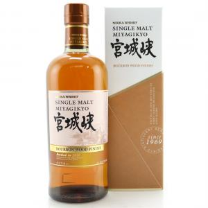 Nikka Miyagikyo Bourbon Wood Finish 2018 Single Malt Whiskey - 70cl 46%