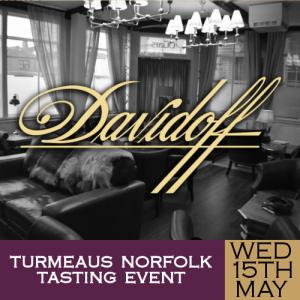 Turmeaus Norfolk Cigar and Spirit Tasting Event - 15/05/19