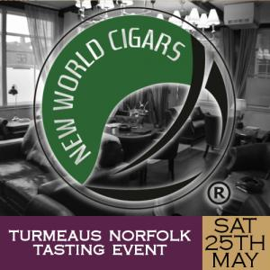 Turmeaus Norfolk Cigar and Spirit Tasting Event - 25/05/19