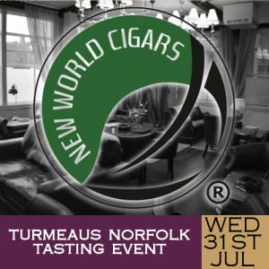 Turmeaus Norfolk Cigar and Spirit Tasting Event - 31/07/19