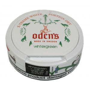 Odens Wintergreen Chewing Tobacco Bag - 1 Tin