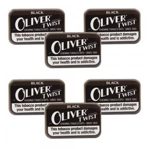 Oliver Twist Black - Smokeless Tobacco Bits 7g Pack x 6 (6)