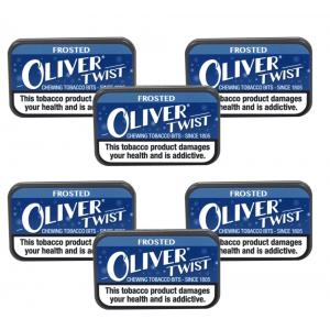 Oliver Twist Frosted - Chewing Tobacco Bits 7g Pack x 6 (6)