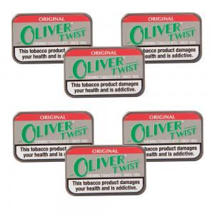 Oliver Twist Original - Smokeless Tobacco Bits 7g Pack x 6 (6)