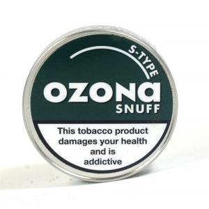 Ozona S Type (Spearmint) Snuff - 5g Tin