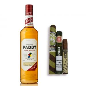 St. Patrick's Day Irish Whisky and Cigar Selection Sampler - 3 Cigars