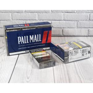 Pall Mall Flow Red Superkings (Previously Red Capsule) - 10 Packs of 20 Cigarettes (200)
