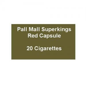 Pall Mall Superkings Red Capsule - 1 Pack of 20 Cigarettes (20)