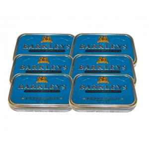 Barkleys Mints - Peppermint Tin - 6 x 50g (300g)