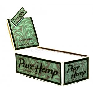 Pure Hemp Classic Rolling Papers 50 Packs