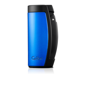 JANUARY SALE - Colibri Enterprise Triple Jet Lighter - Black and Blue (End of Line)