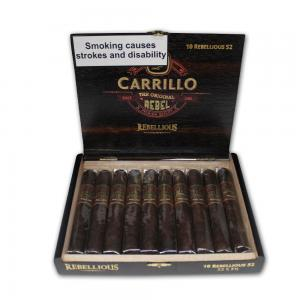E.P Carrillo Rebel Maduro Rebellious Robusto Cigar - Box of 10