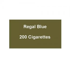 Regal Blue - 10 Packs of 20 Cigarettes (200)