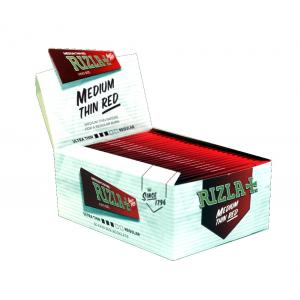 Rizla King Size Red Rolling Papers 50 Packs