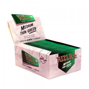 Rizla King Size Green Rolling Papers 50 Packs