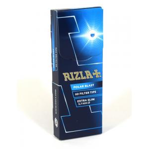 Rizla Polar Blast Extra Slim Filter Tips (60) 1 Box
