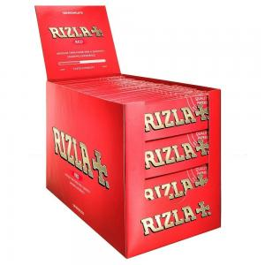 Rizla Regular Red Rolling Papers 100 packs