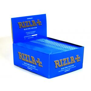 Rizla King Size Blue Slim Rolling Papers 50 Packs