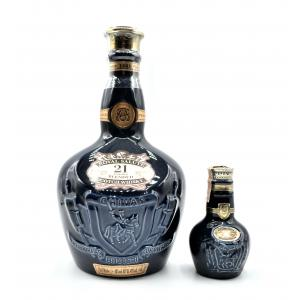 Royal Salute 21 Year Old Flagon Blended Whisky & Miniature - 75cl 40%