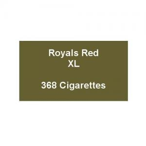 Royals Red XL - 16 Packs of 23 Cigarettes (368)