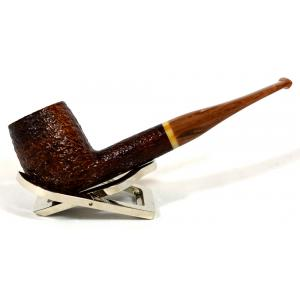 Savinelli Dolomiti 128 Rustic Light Brown Straight 9mm Fishtail Pipe (SAV448)