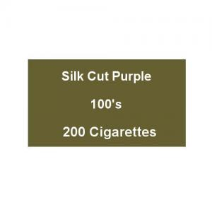 Silk Cut Purple 100s Superking - 10 packs of 20 cigarettes (200)