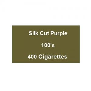 Silk Cut Purple 100s Superking - 20 packs of 20 cigarettes (400)