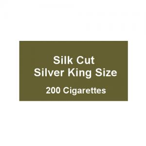Silk Cut Silver Kingsize - 10 packs of 20 cigarettes (200)