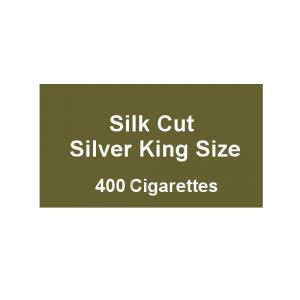 Silk Cut Silver Kingsize - 20 packs of 20 cigarettes (400)