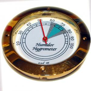 "Petit Analogue Hygrometer - 1  3/4""  diameter"