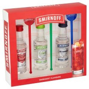 Smirnoff Flavours 3 x 5cl Gift Pack