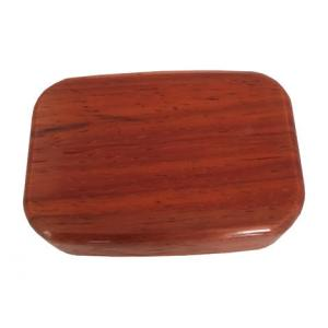 Wilsons of Sharrow Wooden Snuff Box - Plain Rosewood