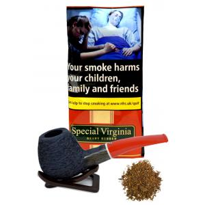 Special Virginia Ready Rubbed Pipe Tobacco Pouch