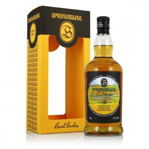 Springbank 10 Year Old Local Barley 2017 - 70cl 57.3%
