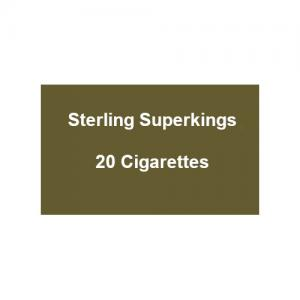 Sterling Superkings - 1 Pack of 20 Cigarettes (20)